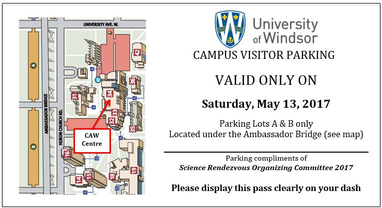 Uwindsor Campus Map.Science Rendezvous Archive University Of Windsor